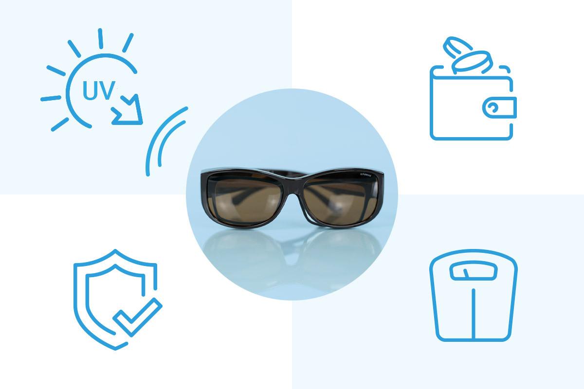 voor- en nadelen van overzet zonnebril