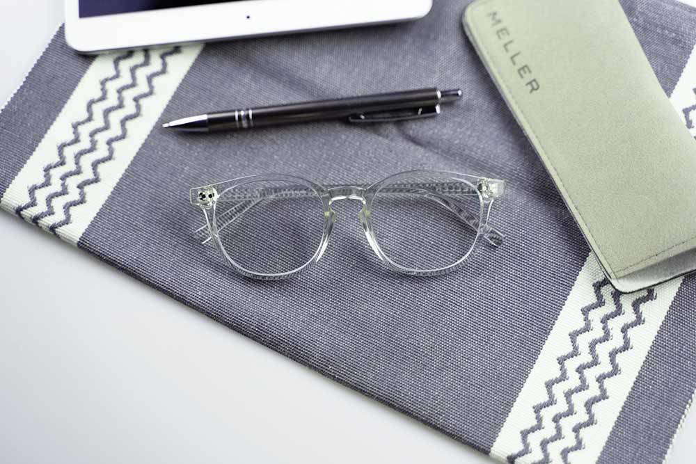 Meller computerbril - transparant montuur