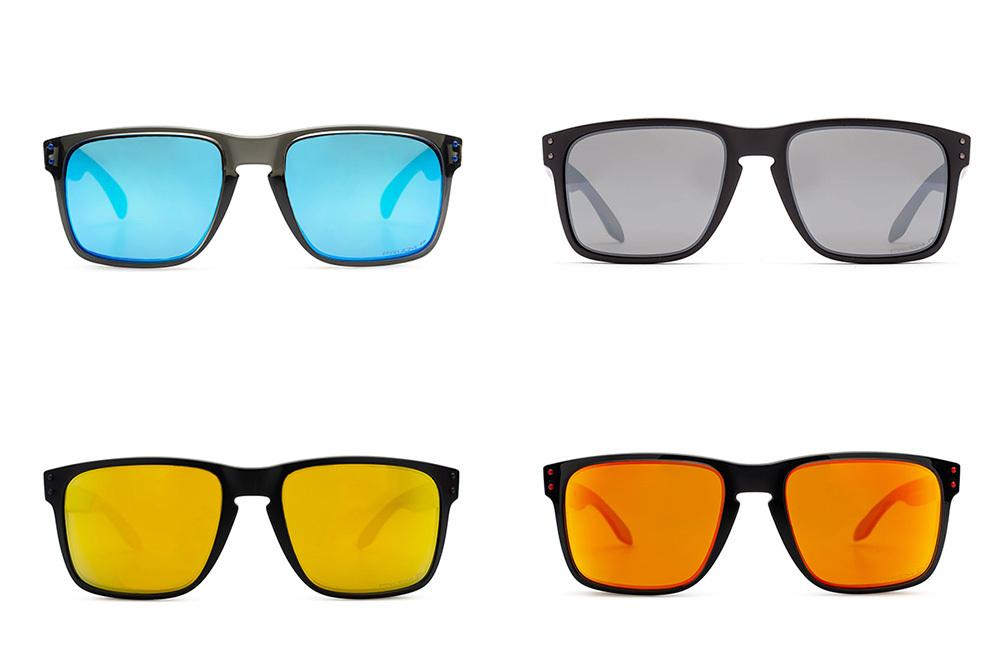 kleuren glazen zonnebrillen